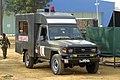 Bangladesh Army Toyota Land Cruiser 70 ambulance. (34461410375).jpg