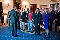 Barack Obama greets America's Great Outdoors initiative event participants, 2011.jpg