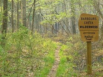 Barbours Creek Wilderness - Image: Barbours Creek Wilderness (17874535321)