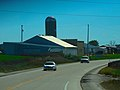 Barn and Silo North of Fennimore - panoramio.jpg