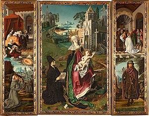 Bartolomé Bermejo - Retablo della vergine di Montserrat.jpg