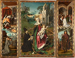 Acqui Terme - Image: Bartolomé Bermejo Retablo della vergine di Montserrat