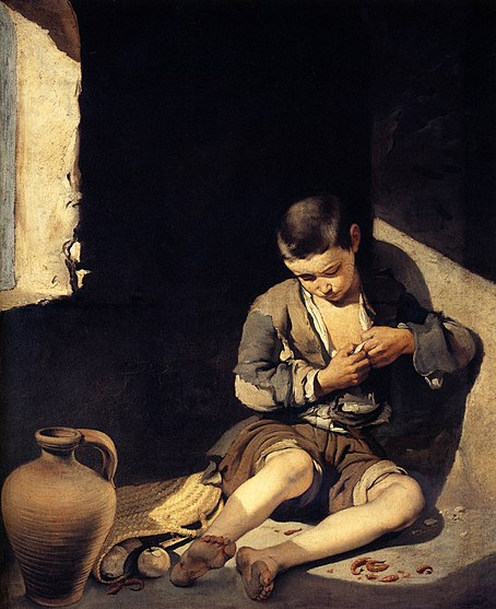 File:Bartolomé Esteban Murillo - The Young Beggar.JPG
