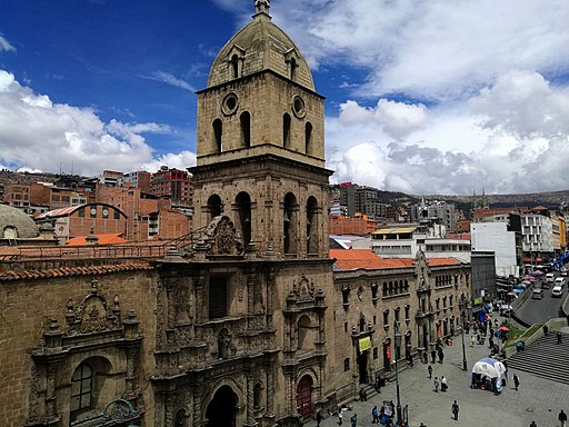 Basílica de San Francisco en La Paz things to do in la paz bolivia