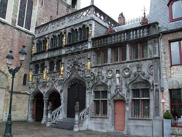 Heilig blut basilika sehensw rdigkeit in br gge belgien - Office du tourisme bruges belgique adresse ...