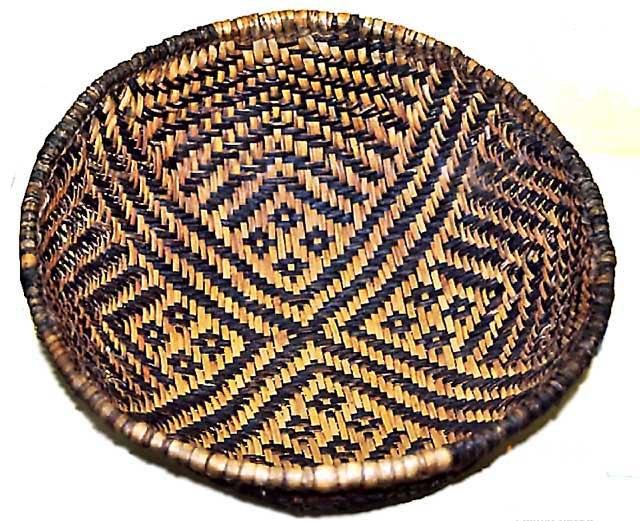 Basket of Basketmaker Pueblo people