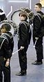 Bass Drum 2, Matthew 'Topsail' Lemieux, Cary High Winter drumline 2005.jpg