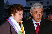 La Iervolino con Antonio Bassolino