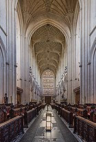 Bath Abbey Nave Fan Vaulting, Somerset, UK - Diliff