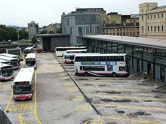 Bath bus station - The bus station in 2010