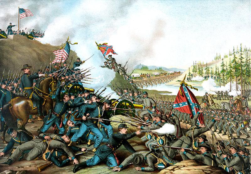 Fichier:Battle of Franklin, November 30, 1864.jpg