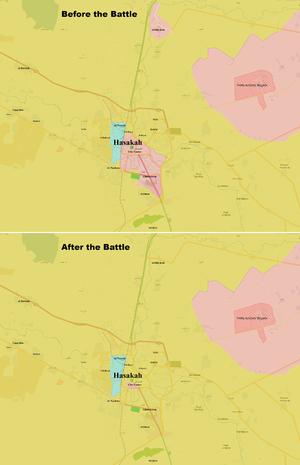 Battle of al-Hasakah (2016) - Image: Battle of al Hasakah 2016
