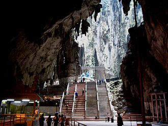 Batu Caves - Interior of Batu caves