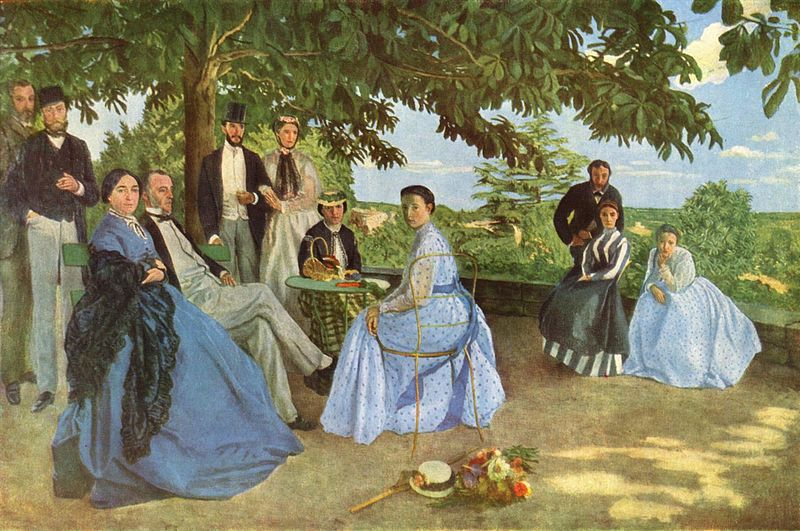 Frederic Bazille+ Family reunion