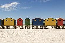 Beach Hut Oil Paintings