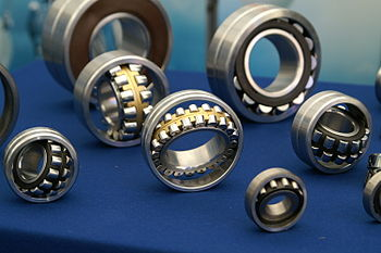 Various bearings on exhibition in Minsk
