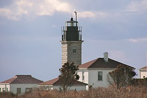 Beavertail Lighthouse - Image: Beavertail Light, Jamestown, Rhode Island