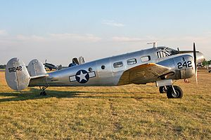 Beech 18, C-45 or Twin Beech (2142825857).jpg