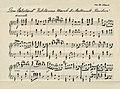 """Beginn Jubiläums-Marsch """"Dem Vaterland"""" von Max Claus, komponiert 1926 für die Stadtmusik Kandern.jpg"""