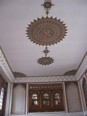 Behnam House - Image: Behnam House Tabriz Interior 2
