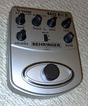 Behringer BDI21 V-Tone Bass Amp Modeler, Preamp and DI - front view.jpg
