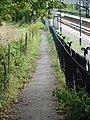 Bekesbourne station and footpath - geograph.org.uk - 571832.jpg