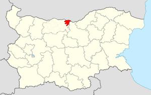 Belene Municipality - Image: Belene Municipality Within Bulgaria