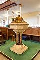 Belfast St George's Church Baptismal Font 2018 08 24.jpg
