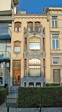 Belgique - Bruxelles - Maison du lieutenant de Lannoy - 01.jpg