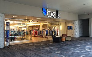 Belk - Belk store in Greenville, South Carolina