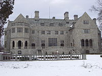 Bellarmine Hall (frontal view) - Jan 2011.JPG