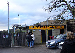 Belper Town F.C. - Entrance to Christchurch Meadow