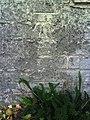 Benchmark on garage of ^48 Bridport Road - geograph.org.uk - 2092039.jpg