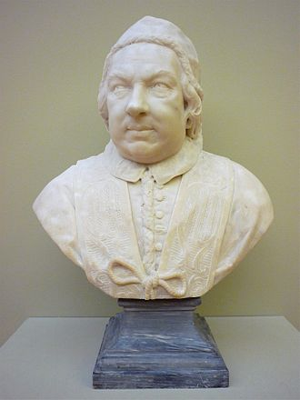 Pope Benedict XIV - Bust of Benedict XIV by Pietro Bracci, Museum of Grenoble