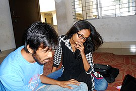 Bengali Wikipedians at Chittagong meetup 2 (05).jpg