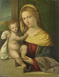 Benvenuto Tisi: Virgin and Child