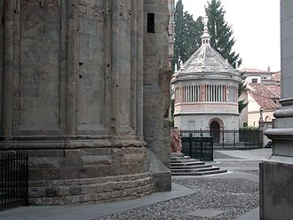 Bergamo Cathedral - Baptistery