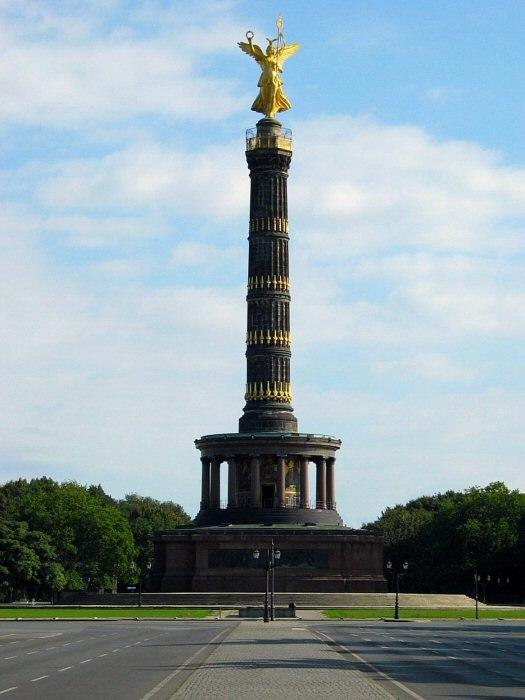 Berlin Tiergarten Siegessaeule 2