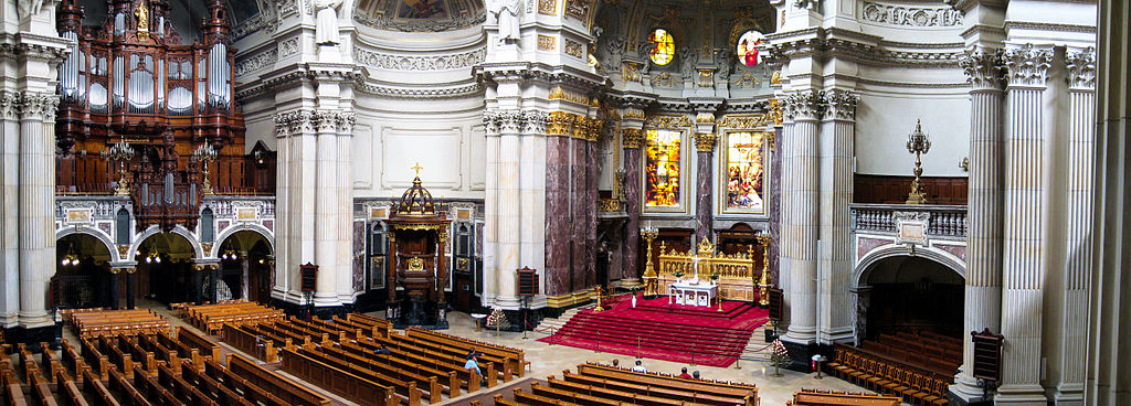 berliner dom cath drale de berlin saint pierre sur. Black Bedroom Furniture Sets. Home Design Ideas