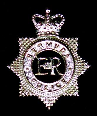 Bermuda Police Service - Image: Bermuda Police Force cap badge