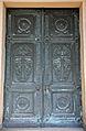Bernstorff & Eichwede, doppelflügeliges Portal zum Welfenmausoleum im Berggarten von Hannover.jpg