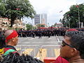 Bersih 3.0 protesters and the police force.jpg