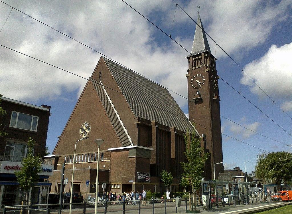 file:bethlehem kerk (church), laan van meerdervoort, the hague, july