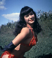 Bettie Page, Playmate jannewaris 1955.