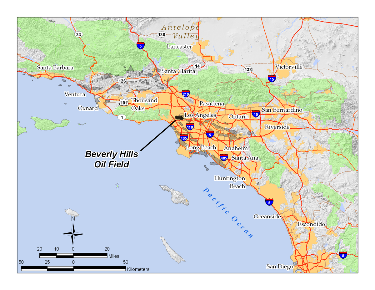 Beverly Hills Oil Field Wikipedia