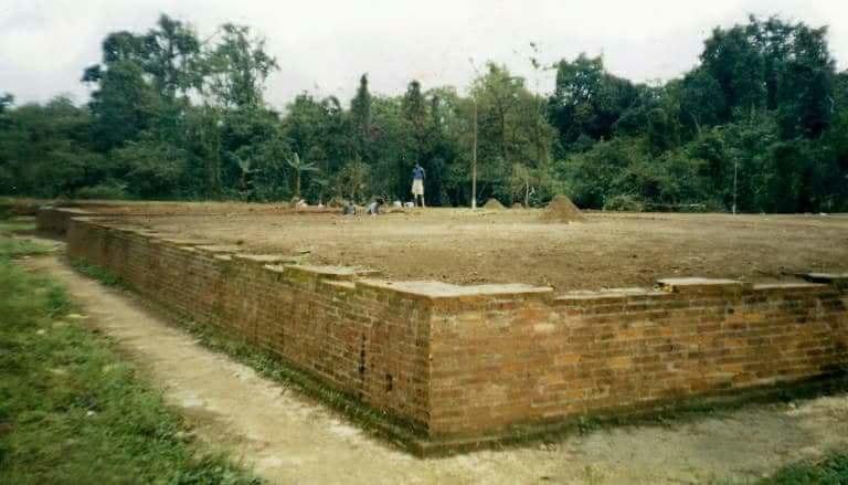 Bhismaknagar ruins