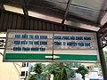 Biển chỉ dẫn, nhà B2, bệnh viện Xanh Pôn, Hà Nội 001.JPG