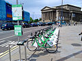 Bike & Go bicycles on Lime Street, Liverpool (2).jpg
