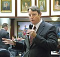 Bill Galvano seeks the support of his colleagues for a measure considered on the House floor.jpg