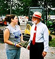 Bill talking with Sandusky Voter Sized (236978451).jpg